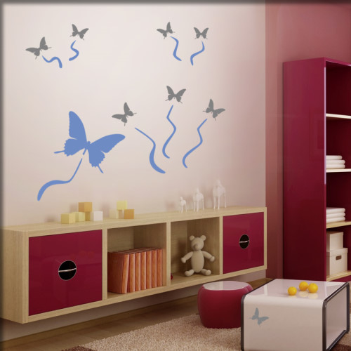 Kinderzimmer wandsticker wandmotive wandkleber for Wand kinderzimmer