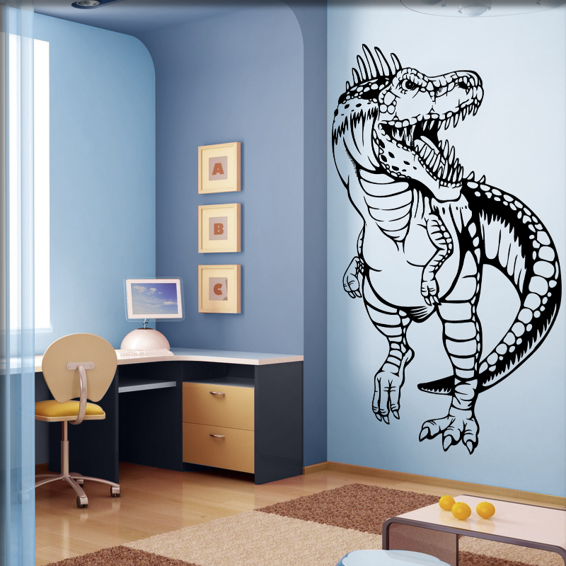 dinosaurier wandtattoo t rex. Black Bedroom Furniture Sets. Home Design Ideas